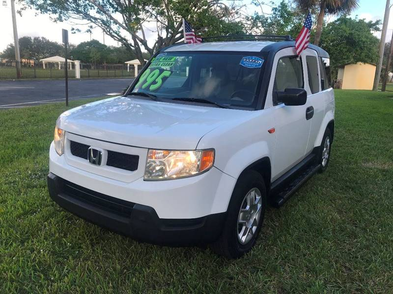 2009 HONDA ELEMENT LX 4DR SUV 5A white 2009 honda element sport eco boost sport this vehicle is e