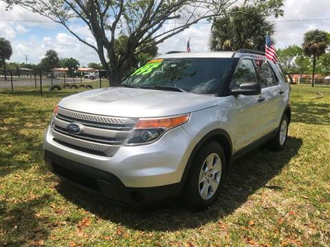2013 Ford Explorer for sale in Plantation, FL