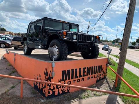 2000 AM General Hummer for sale in Rosenberg, TX
