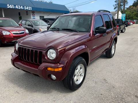 2003 Jeep Liberty for sale in Lake Worth, FL