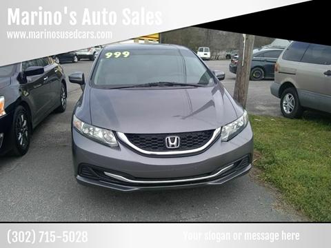 2015 Honda Civic LX for sale at Marino's Auto Sales in Laurel DE