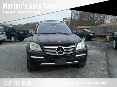 2011 Mercedes-Benz GL-Class GL 550 4MATIC for sale at Marino's Auto Sales in Laurel DE
