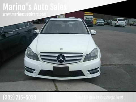 2013 Mercedes-Benz C-Class for sale at Marino's Auto Sales in Laurel DE