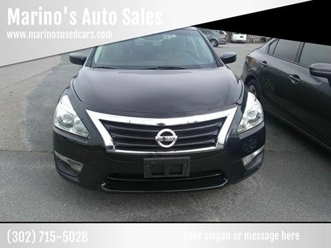 2015 Nissan Altima 2.5 for sale at Marino's Auto Sales in Laurel DE