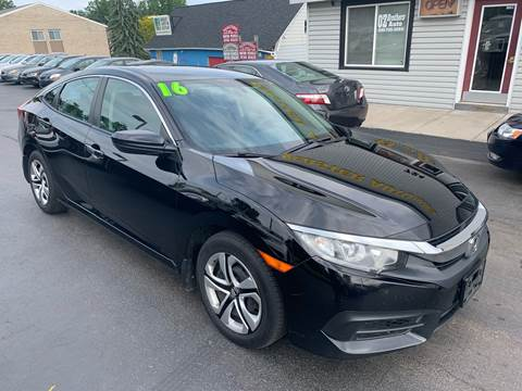 2016 Honda Civic for sale in Webster, NY