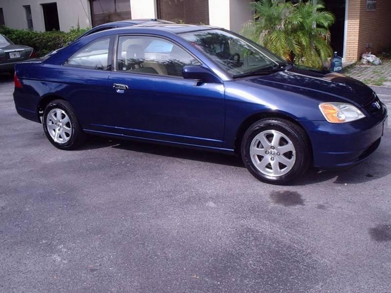 2003 Honda Civic EX 2dr Coupe   Plant City FL