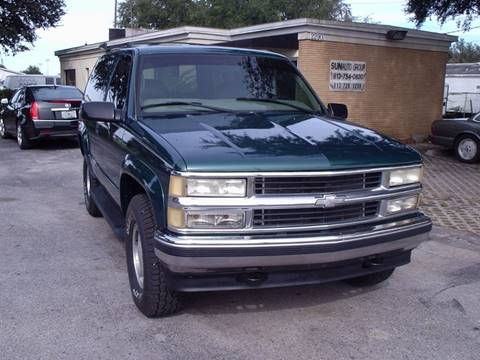 1998 Chevrolet Tahoe for sale in Plant City, FL