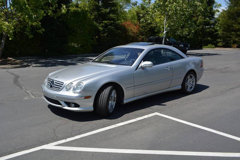 2003 Mercedes Benz CL Class CL 55 AMG 2dr Coupe   Rocklin CA