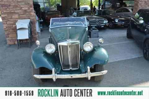 1953 MG TD for sale in Rocklin, CA