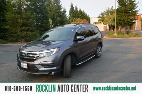 2017 Honda Pilot for sale in Rocklin, CA