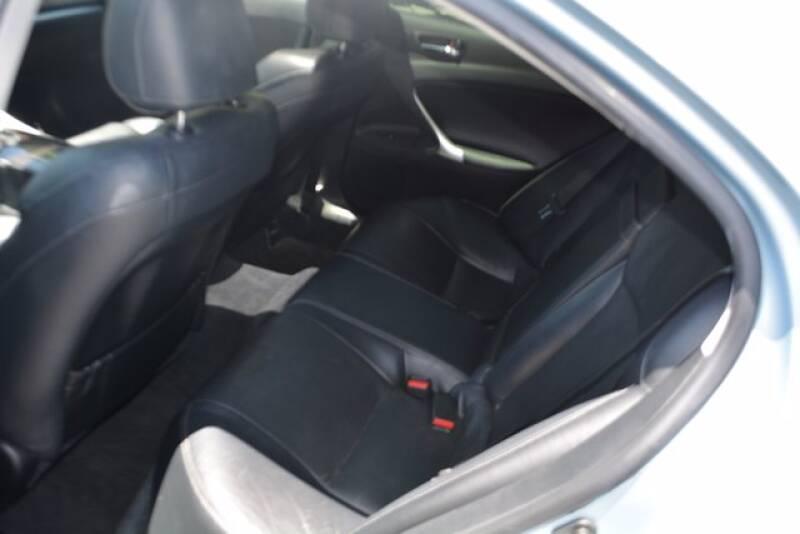 2012 Lexus IS 250 4dr Sedan 6A - Rocklin CA