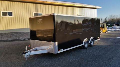 2018 ATC 8.5x20 10K  for sale at Trailer World in Brookfield NS
