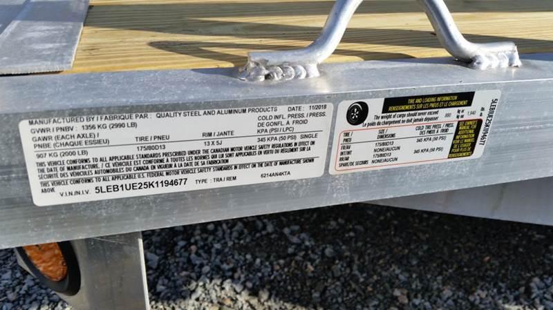2019 QSA 62x14 4K 4' Ramp - Brookfield NS
