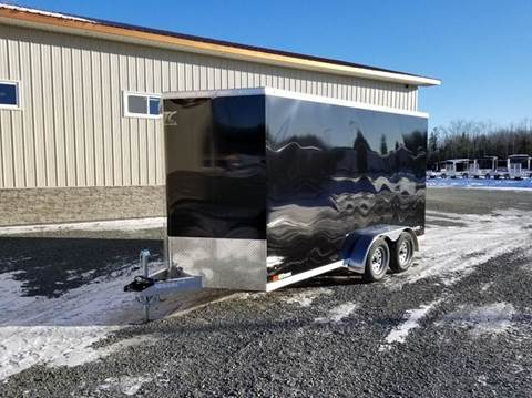 """2019 ATC 7x14+2 7.7K 12"""" EH for sale at Trailer World in Brookfield NS"""