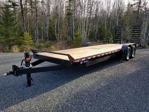 2020 Canada Trailers 83x24 14K HD Equipment Trailer