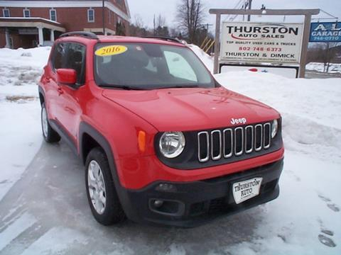 2016 Jeep Renegade for sale in Saint Johnsbury, VT