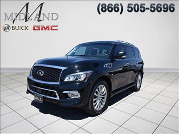 2015 Infiniti QX80 for sale in Midland, TX