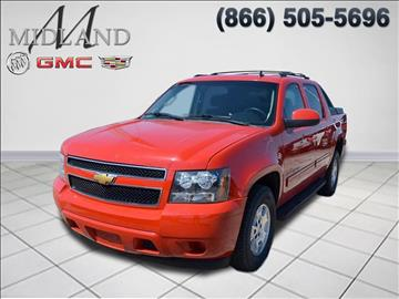 2012 Chevrolet Avalanche for sale in Midland, TX