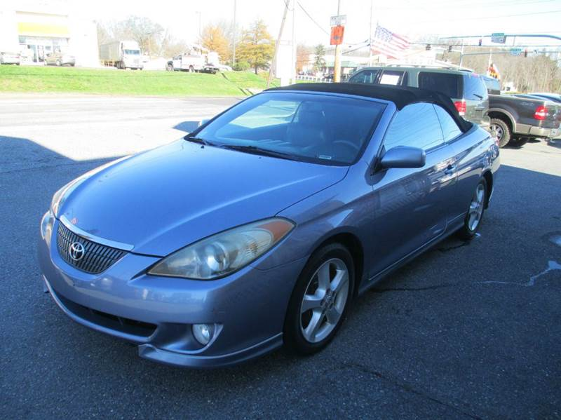 2006 toyota camry solara sle v6 2dr convertible in jessup md fuentes brothers auto sales. Black Bedroom Furniture Sets. Home Design Ideas