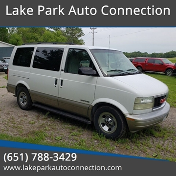 2002 GMC Safari for sale in Lake Park, MN