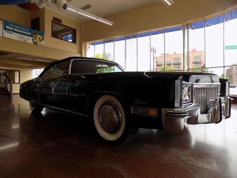 1972 Cadillac Eldorado for sale in Detroit, MI
