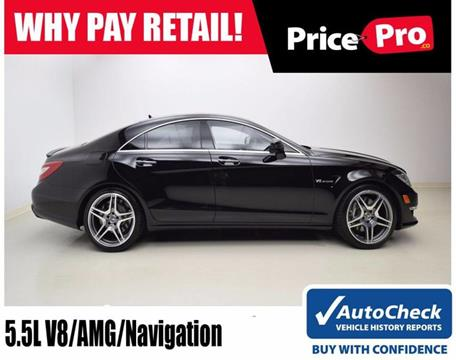 2012 Mercedes-Benz CLS for sale in Maumee, OH