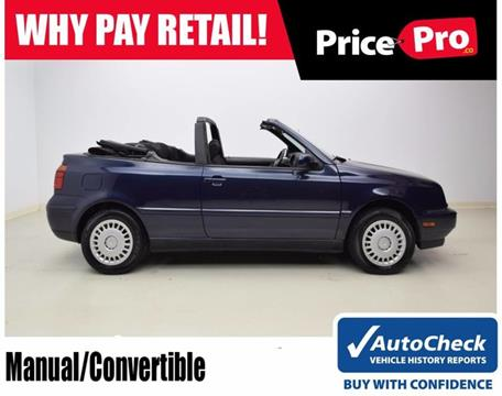 2001 Volkswagen Cabrio for sale in Maumee, OH