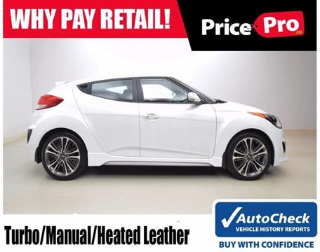 2016 Hyundai Veloster Turbo for sale in Maumee, OH