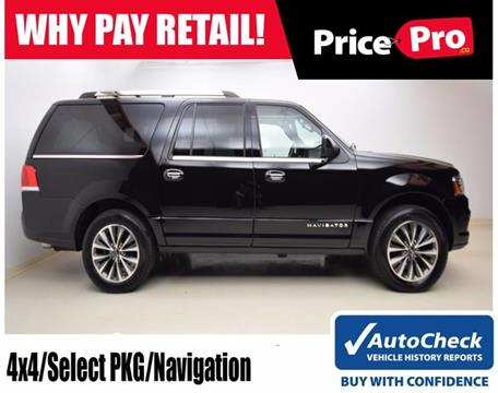 2017 Lincoln Navigator L for sale in Maumee, OH