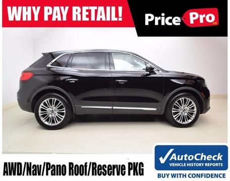 2017 Lincoln MKX for sale in Maumee, OH
