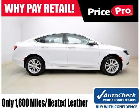 2017 Chrysler 200 for sale in Maumee, OH
