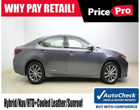 2016 Lexus ES 300h for sale in Maumee, OH