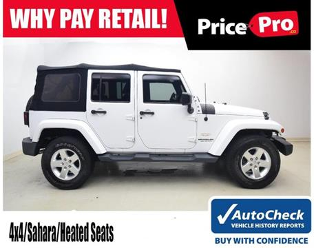 2014 Jeep Wrangler Unlimited for sale in Maumee, OH