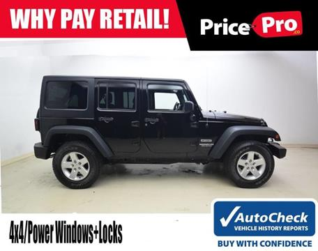 2015 Jeep Wrangler Unlimited for sale in Maumee, OH