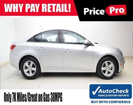 2016 Chevrolet Cruze Limited for sale in Maumee, OH