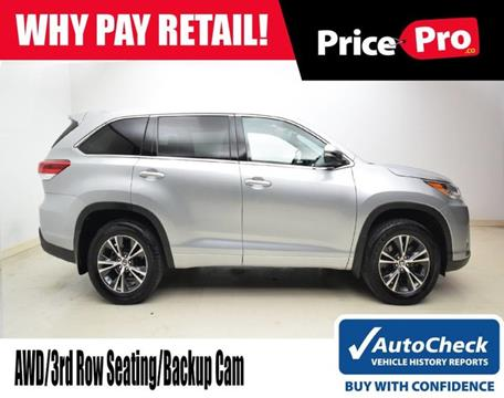 2018 Toyota Highlander for sale in Maumee, OH