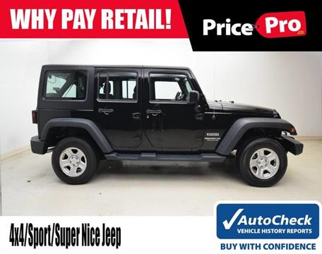 2016 Jeep Wrangler Unlimited for sale in Maumee, OH