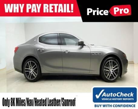 Used Maserati Price >> Used Maserati For Sale In Ohio Carsforsale Com