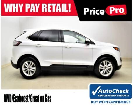 2017 Ford Edge SEL for sale at PricePro.co in Maumee OH