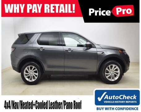2016 Land Rover Discovery Sport HSE for sale at PricePro.co in Maumee OH
