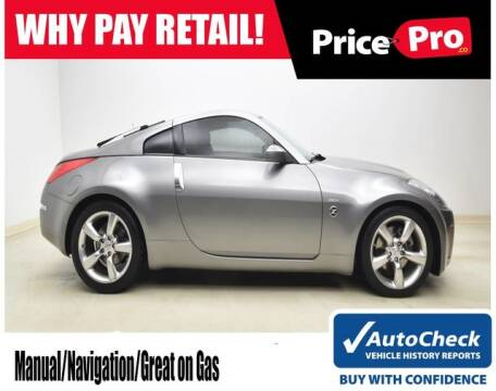 2008 Nissan 350Z for sale at PricePro.co in Maumee OH