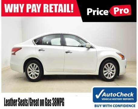 2013 Nissan Altima for sale at PricePro.co in Maumee OH