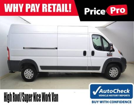 2017 RAM ProMaster Cargo 2500 159 WB for sale at PricePro.co in Maumee OH