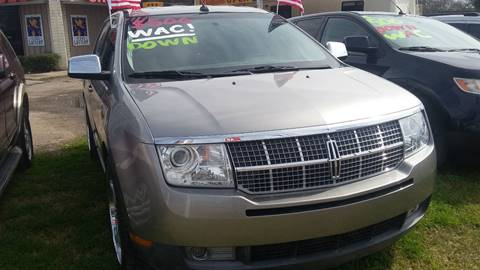 2008 Lincoln MKX for sale at Palmer Auto Sales in Rosenberg TX