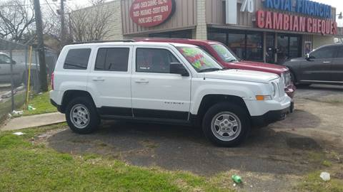 2011 Jeep Patriot for sale at Palmer Auto Sales in Rosenberg TX