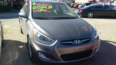 2014 Hyundai Accent for sale at Palmer Auto Sales in Rosenberg TX