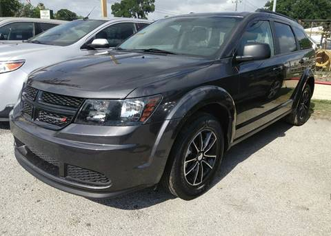 2017 Dodge Journey for sale at Palmer Auto Sales in Rosenberg TX