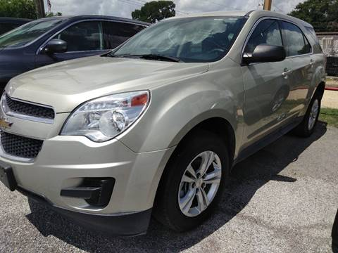 2015 Chevrolet Equinox for sale at Palmer Auto Sales in Rosenberg TX