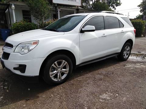 2013 Chevrolet Equinox for sale at Palmer Auto Sales in Rosenberg TX