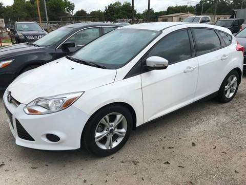 2014 Ford Focus for sale at Palmer Auto Sales in Rosenberg TX